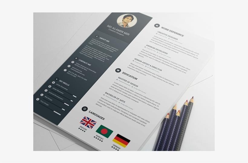 Behance Resume Template Free Resume Template On Behance - Resume