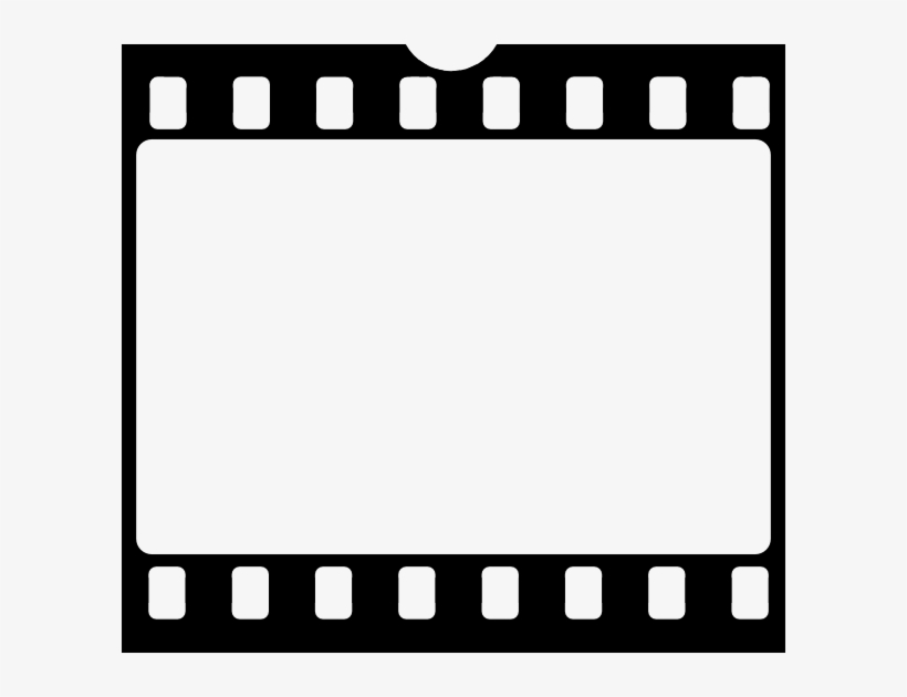 Small - Film Reel Frame Png Transparent PNG - 600x550 - Free