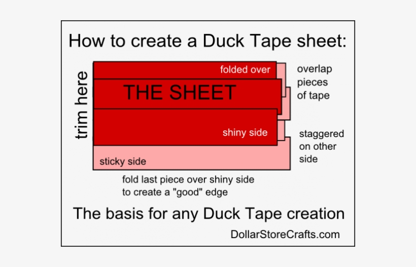 How To Make A Duck Tape Sheet - Dream Note Cards (pk Of 10