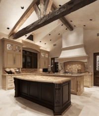 Kitchen With Tall Ceiling  Remodeling Tips - www.nicespace.me
