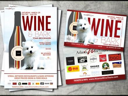 wineNbark-poster-flyer-desgin