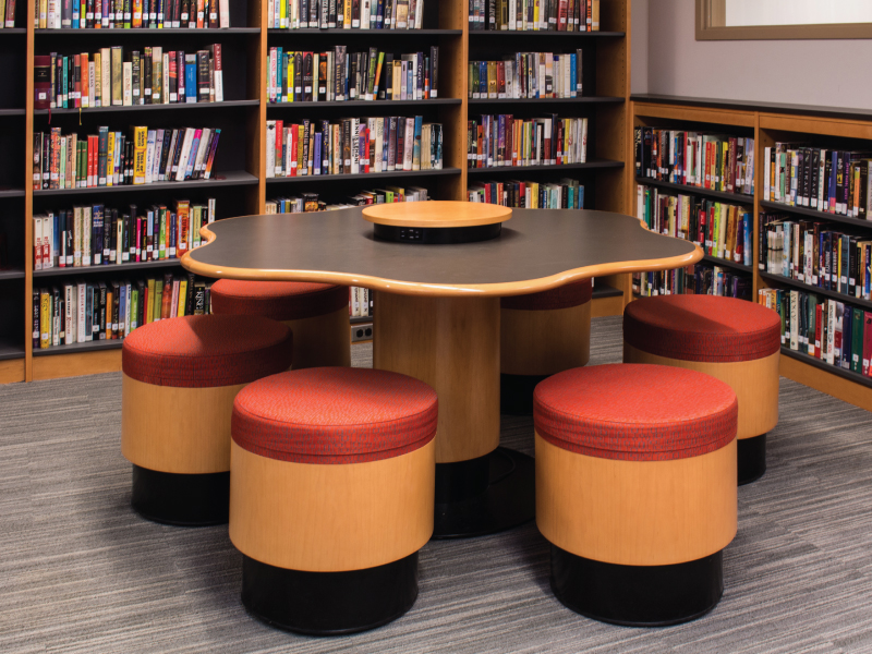 Library Shelving and Furniture » Tables / Chairs Nickerson NY
