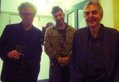 Mark Ellen, David Hepworth and Nick Stephenson