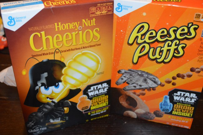 General Mills Cereal - The Force Awakens