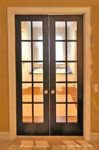 "10 Lite 8'0"" Interior French Doors Mahogany"