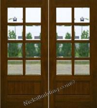 Mahogany Patio Doors 8
