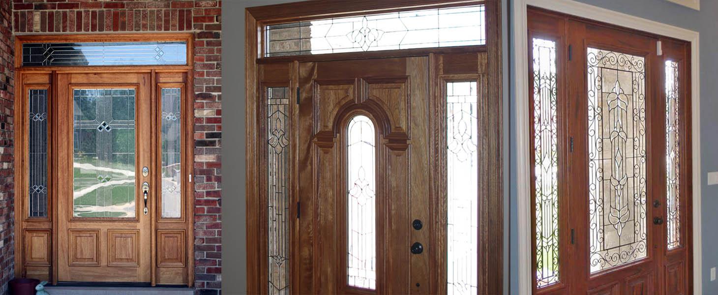 Square transom doors
