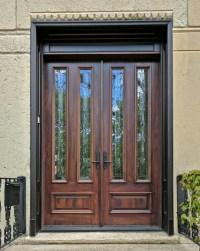 Exterior Double Doors - Solid Mahogany Double Doors 8-0