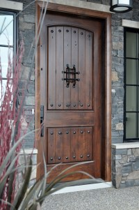 Home Entrance Door: Rustic Entry Door