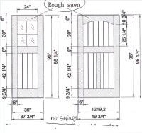 Door Measurements & Door Sizes UK Standards Door ...