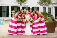 Navy And White Striped Bridesmaid Dress | Weddings Dresses