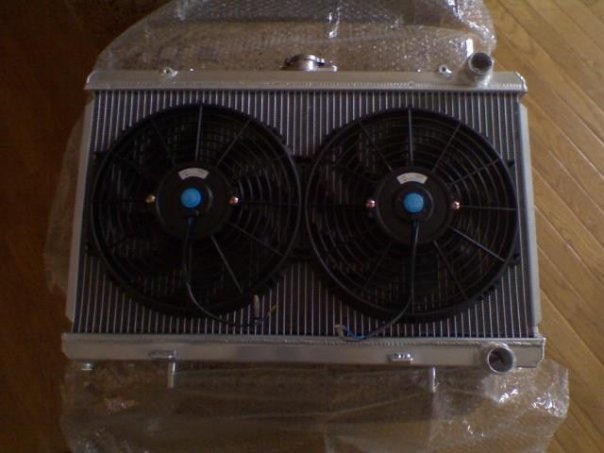 Review ISIS Aluminium Radiator and Electric Fans for 240sx
