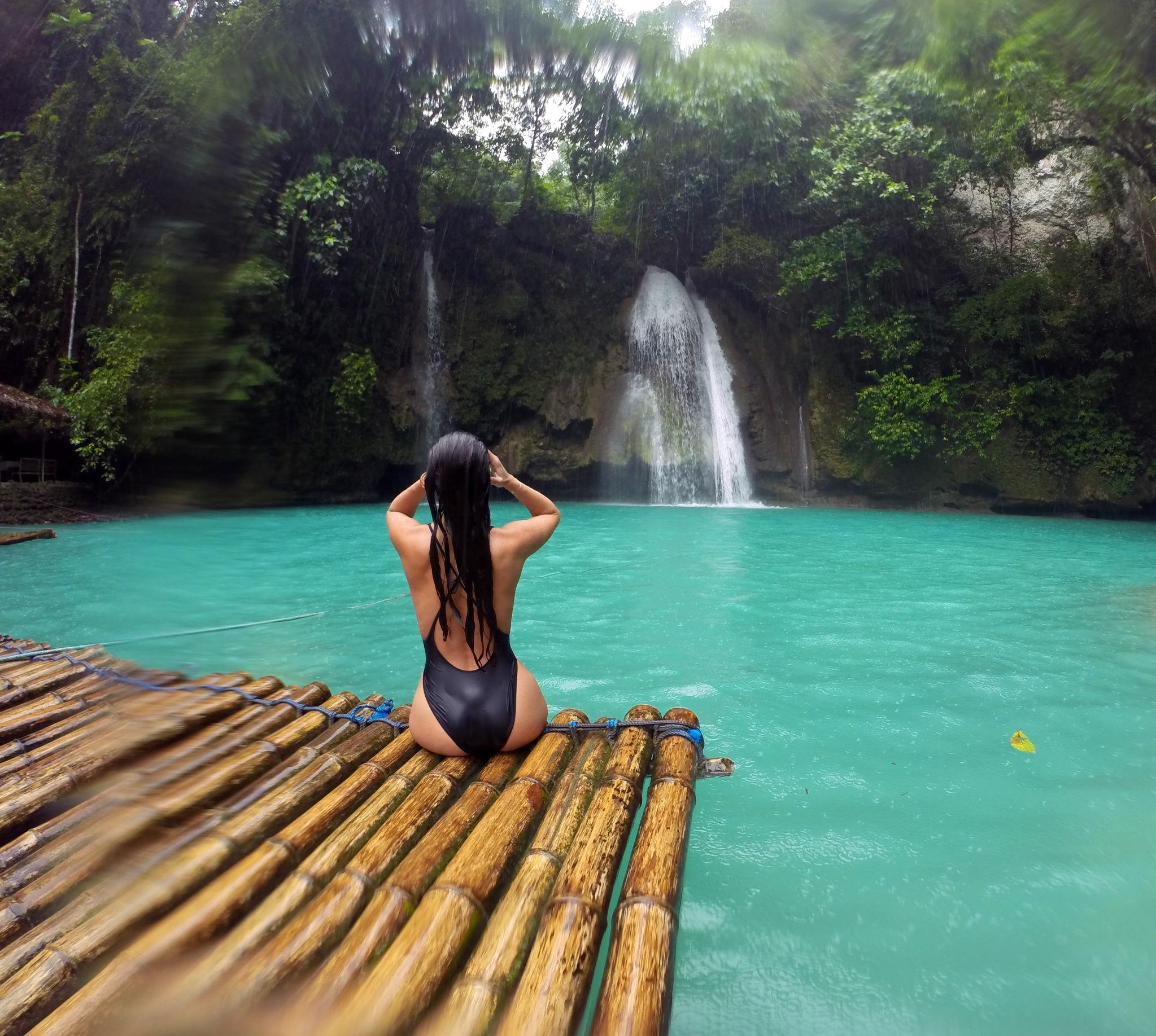 Fall Walk Wallpaper Kawasan Falls Cebu Philippines Nicole Isaacs