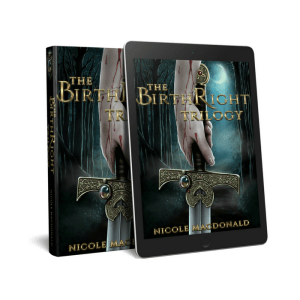 The BirthRight Trilogy, Nicole MacDonald, kindle version, epub version