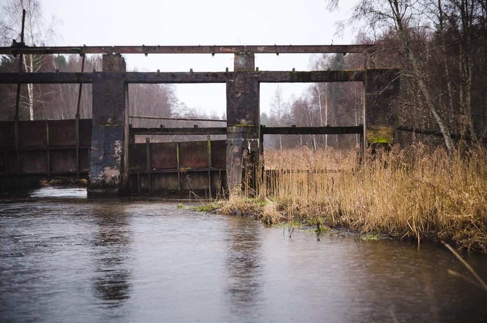 Neveriškių hidroelektrinės griuvėsiai