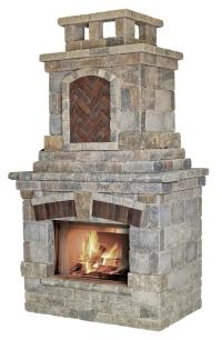 Outdoor Fireplace Kits. Outdoor Wood Burning Fireplace ...