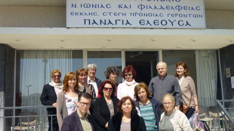 Επίσκεψη της Ένωσης Ρουμελιωτών στην «Παναγία Ελεούσα»