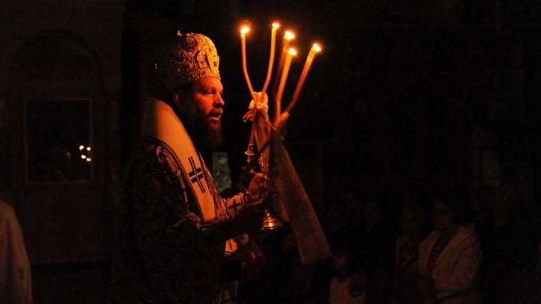 Η Ανάσταση του Λαζάρου στον Ι.Ν. Κοιμήσεως Θεοτόκου Ν. Φιλαδέλφειας