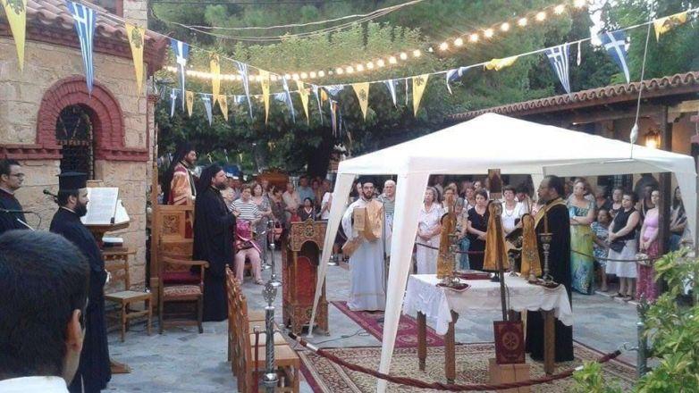 Ιερά Πανήγυρις Αγίου Φανουρίου