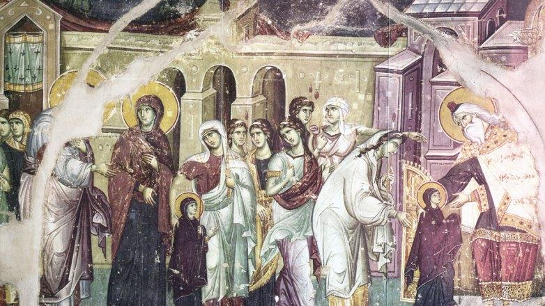 Ιερά Πανήγυρις Εισοδίων της Θεοτόκου στον Ι.Ν. Κοιμήσεως της Θεοτόκου Πρασίνου Λόφου Ν. Ηρακλείου