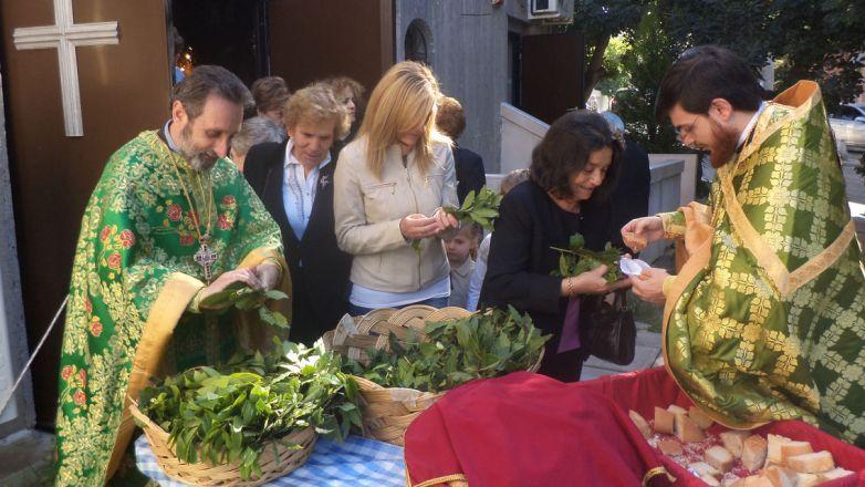 Κυριακή των Βαΐων & Ακολουθία του Νυμφίου στον Ι.Ν. Ευαγγελισμού της Θεοτόκου Ν. Χαλκηδόνος