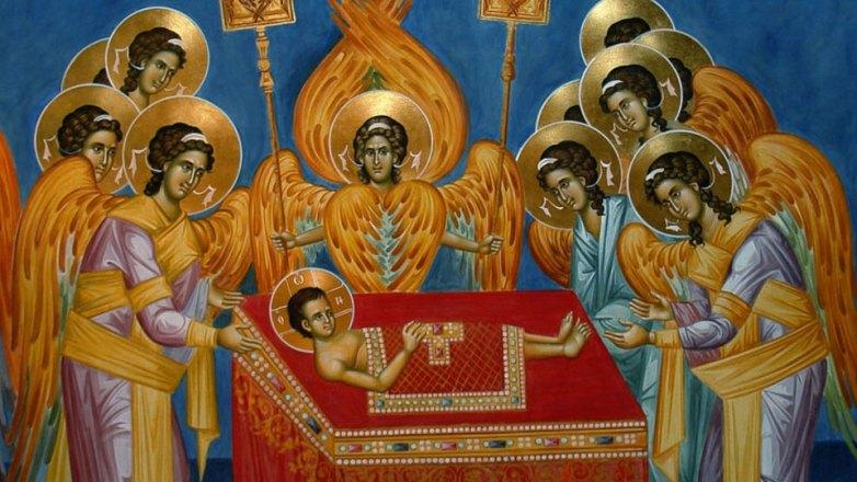 Θεία Λειτουργία στο Ιερό Παρεκκλήσιο Γενεσίου της Θεοτόκου της Μ.Φ.Η. «Παναγία Ελεούσα»