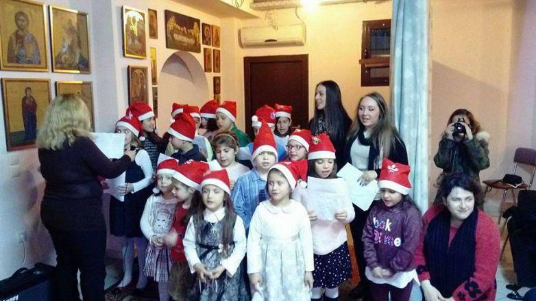 Χριστουγεννιάτικη Εορτή Κατηχητικού I.Ν. Ευαγγελισμού της Θεοτόκου Ν. Χαλκηδόνος