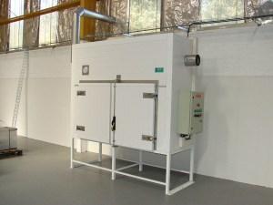 Resecador con sistema de calefacción eléctrico
