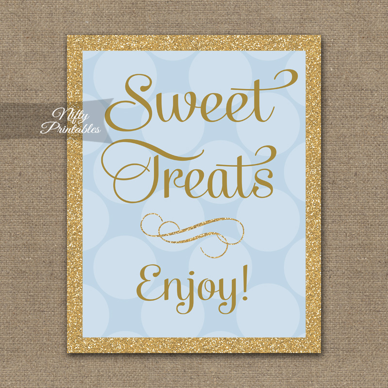 Printable Candy  Dessert Table Signs