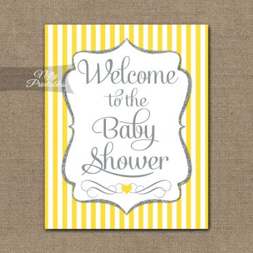 Printable Baby Shower Signs  Banners