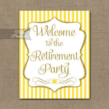 Printable Welcome Signs - Non Personalized