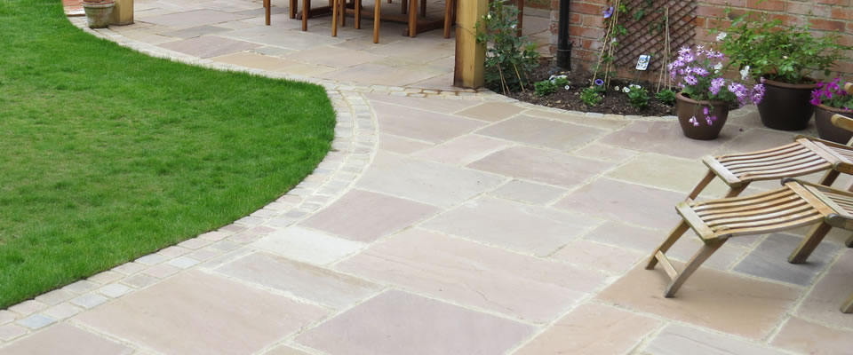 Indian Sandstone Patio Slabs And Flagstones Nigel