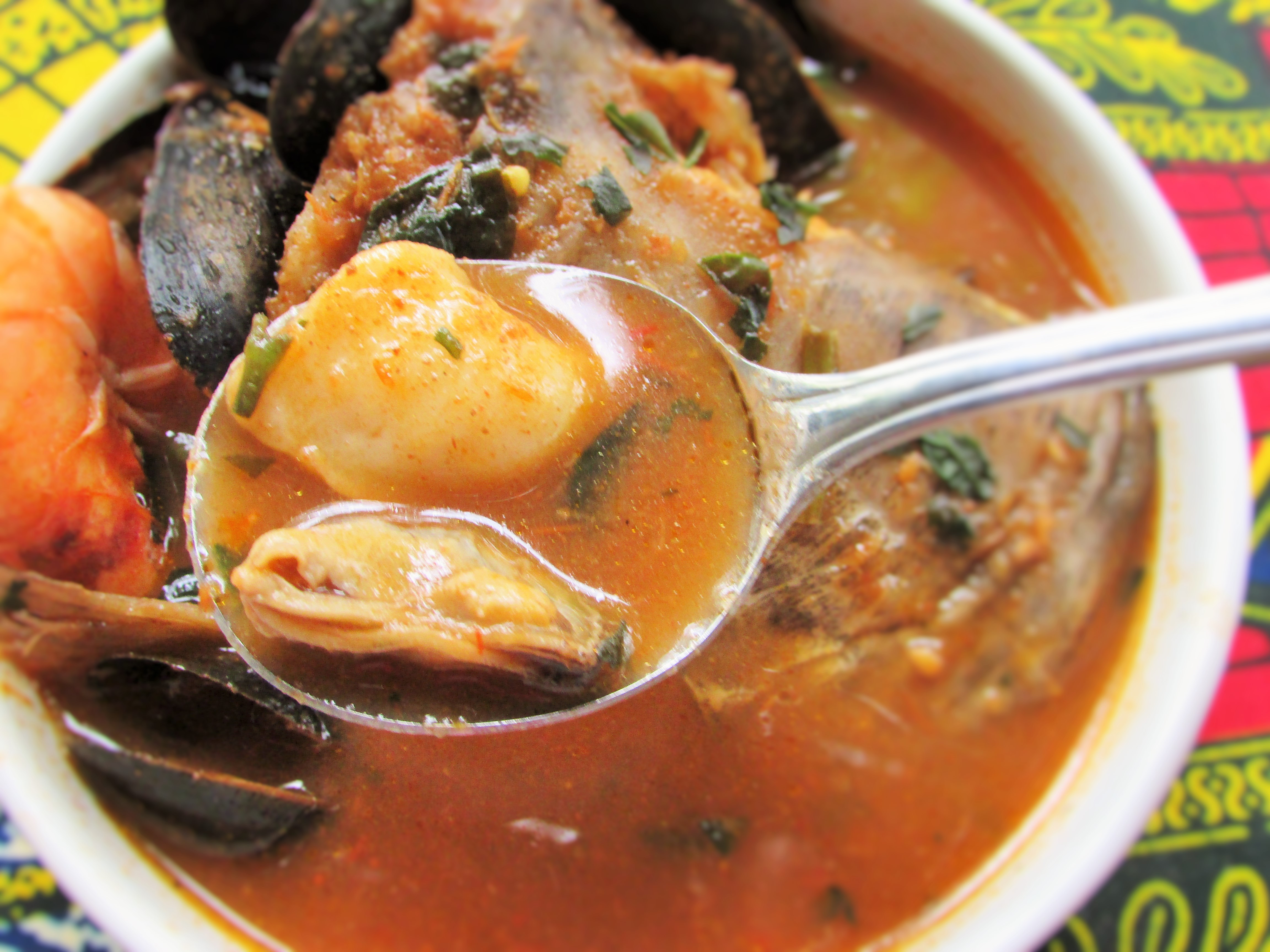 Cat Fish and Seafood Pepper Soup(Ghana meets Nigeria ...