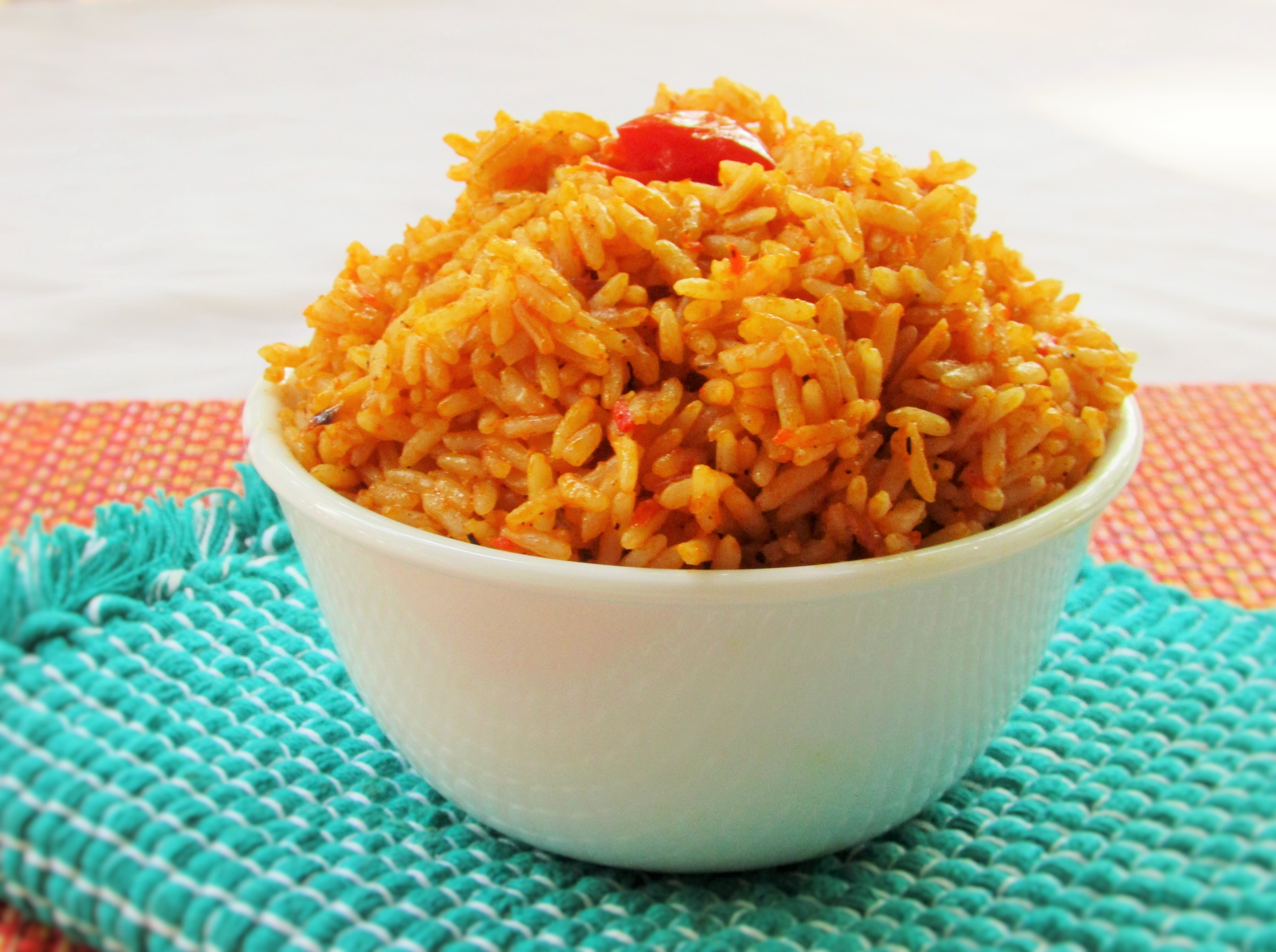 Coconut Jollof Rice | Nigerian Lazy Chef