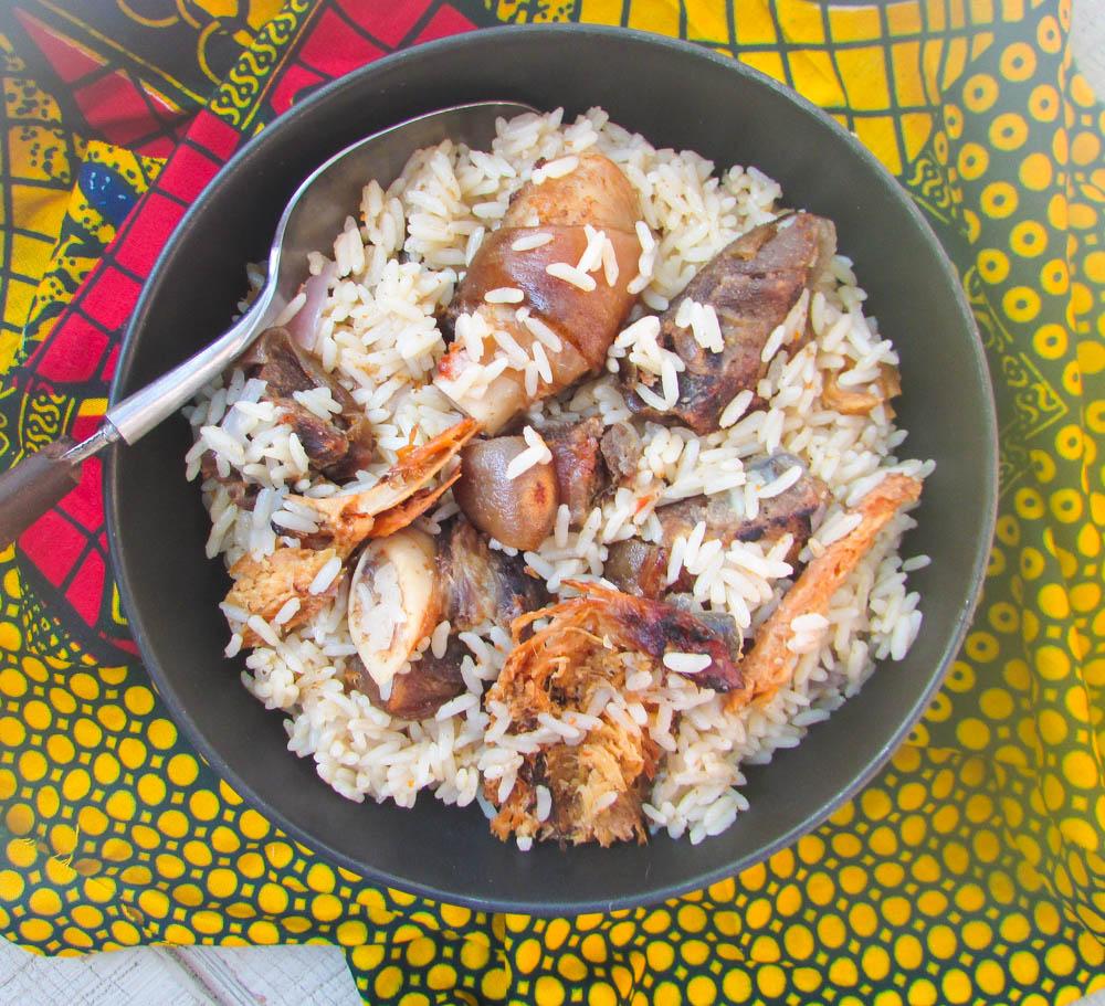 Efik Style Coconut rice