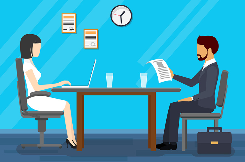 Animated Tech Wallpaper Tricky Interview Questions And How To Answer Them