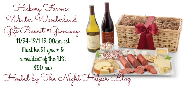 hickory farms basket giveaway