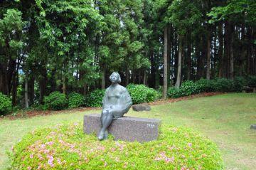 彫刻の丘 銅像彫刻の写真