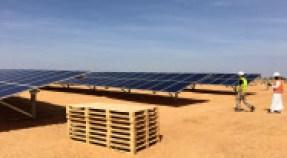 セネガルでは太陽光発電所の建設が相次ぐ