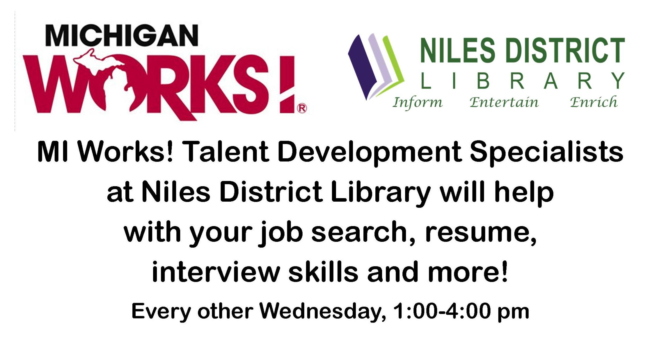 michigan works resume help job seekers michigan works association michigan works talent development specialists michiganworksorg