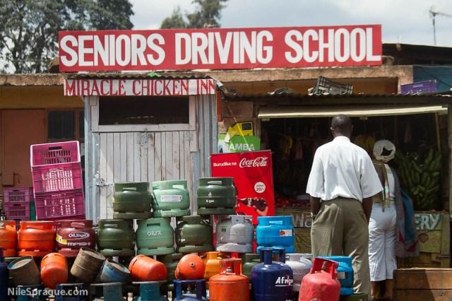 Seniors Driving School and Miracle Chicken Inn, Nairobi, Kenya