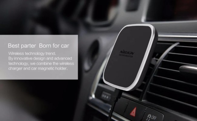 Nillkin Car Qi Wireless Charger Holder Magnetic Air Vent