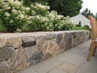 Nilsen Landscape Design  Ideas for Lighting a Landscape Wall