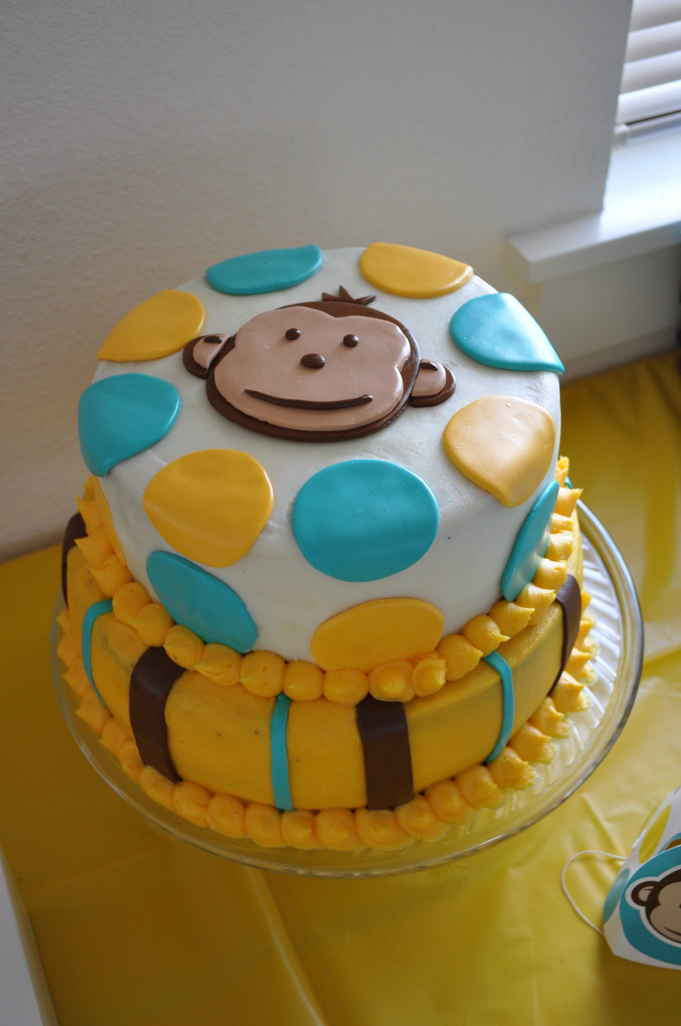 Monkeys And Bananas Cute Wallpaper For Girls First Birthday Monkey Theme For Boys