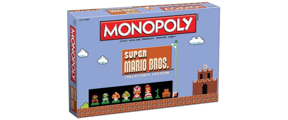 Monopoly: Super Mario Bros. Collector's Edition Now Available