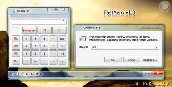 Aero Glass Effects in XP with FastAero