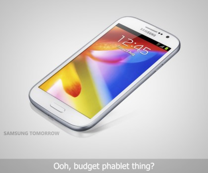 Samsung Galaxy Grand Announced