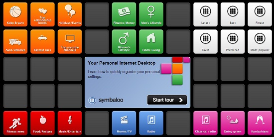 Symbaloo - iGoogle Alternative