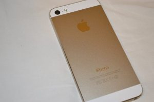 Golden Apple iPhone 5S Back