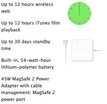 MacBook Air Battery Life